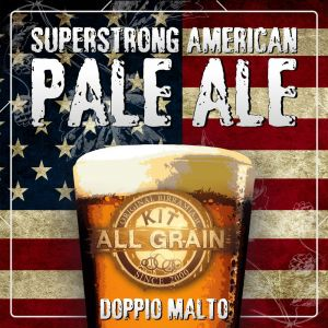 Kit Birra all grain Superstrong American Pale Ale