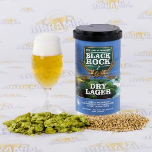 Black Rock Dry Lager 1,7 kg - malto pronto
