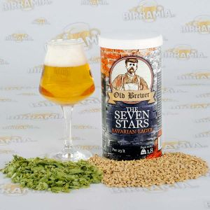 The Seven Stars - Bavarian Lager 1,8 kg - malto pronto